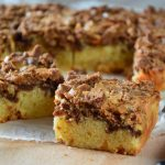 Blondies with speculaas