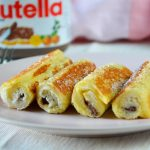 Roll-up Nutella wentelteefjes