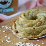 Banaan-pindakaas mugcake uit de airfryer