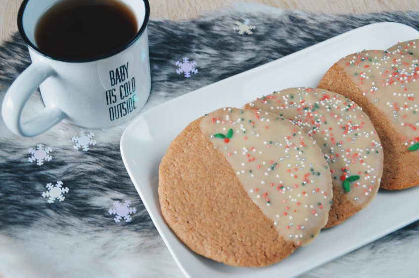 Giant gingerbread cookies