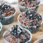 Chocolate chunk Oreo muffins