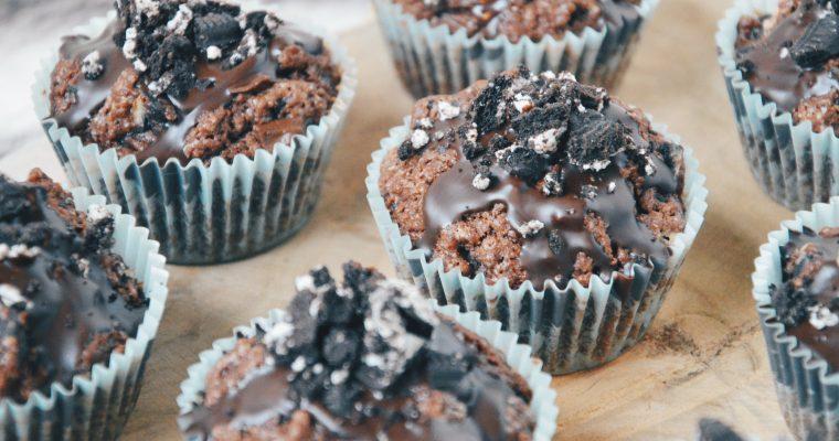 (Nederlands) Chocolate chunk Oreo muffins