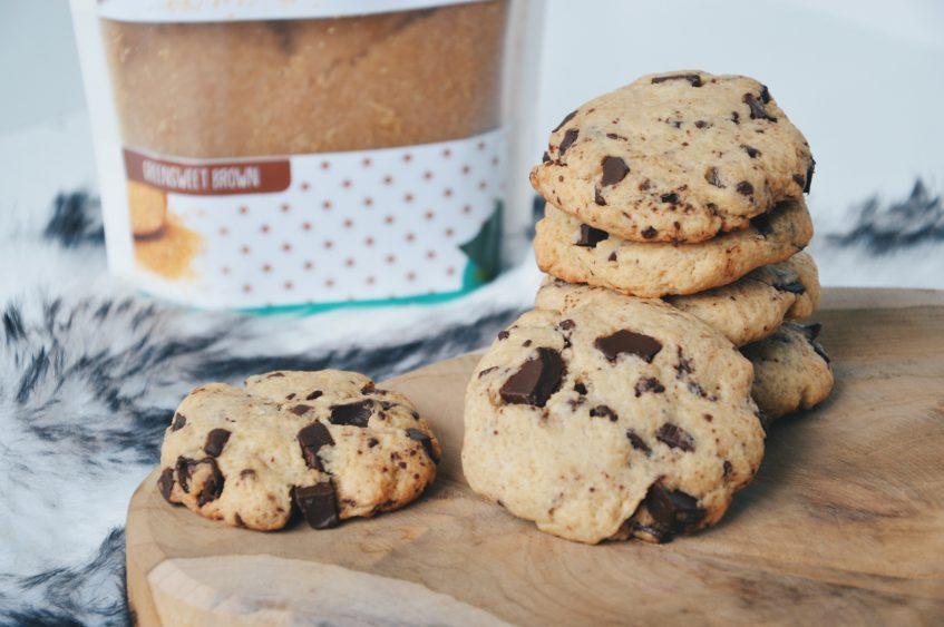 Chocolate chip cookies met Greensweet Stevia