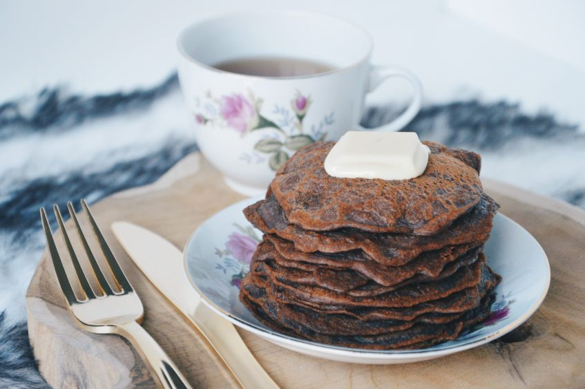 Chocolade American pancakes