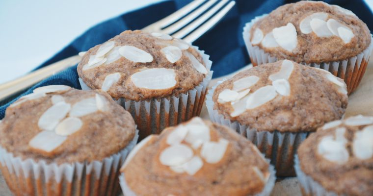 Healthy speculaasmuffins