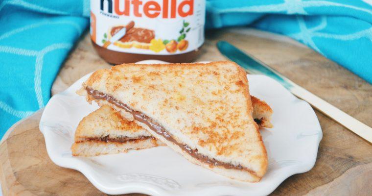 Wentelteefjes met Nutella