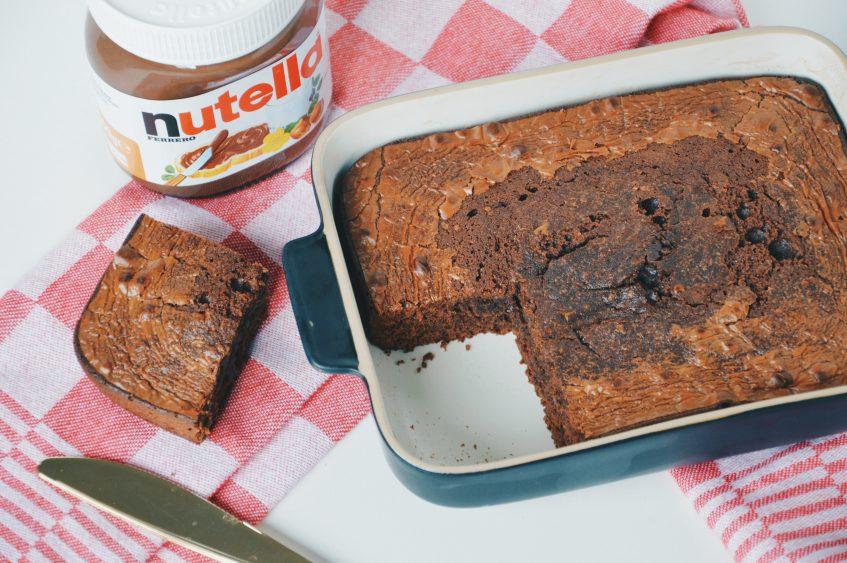 Nutella brownies met maar 3 ingrediënten