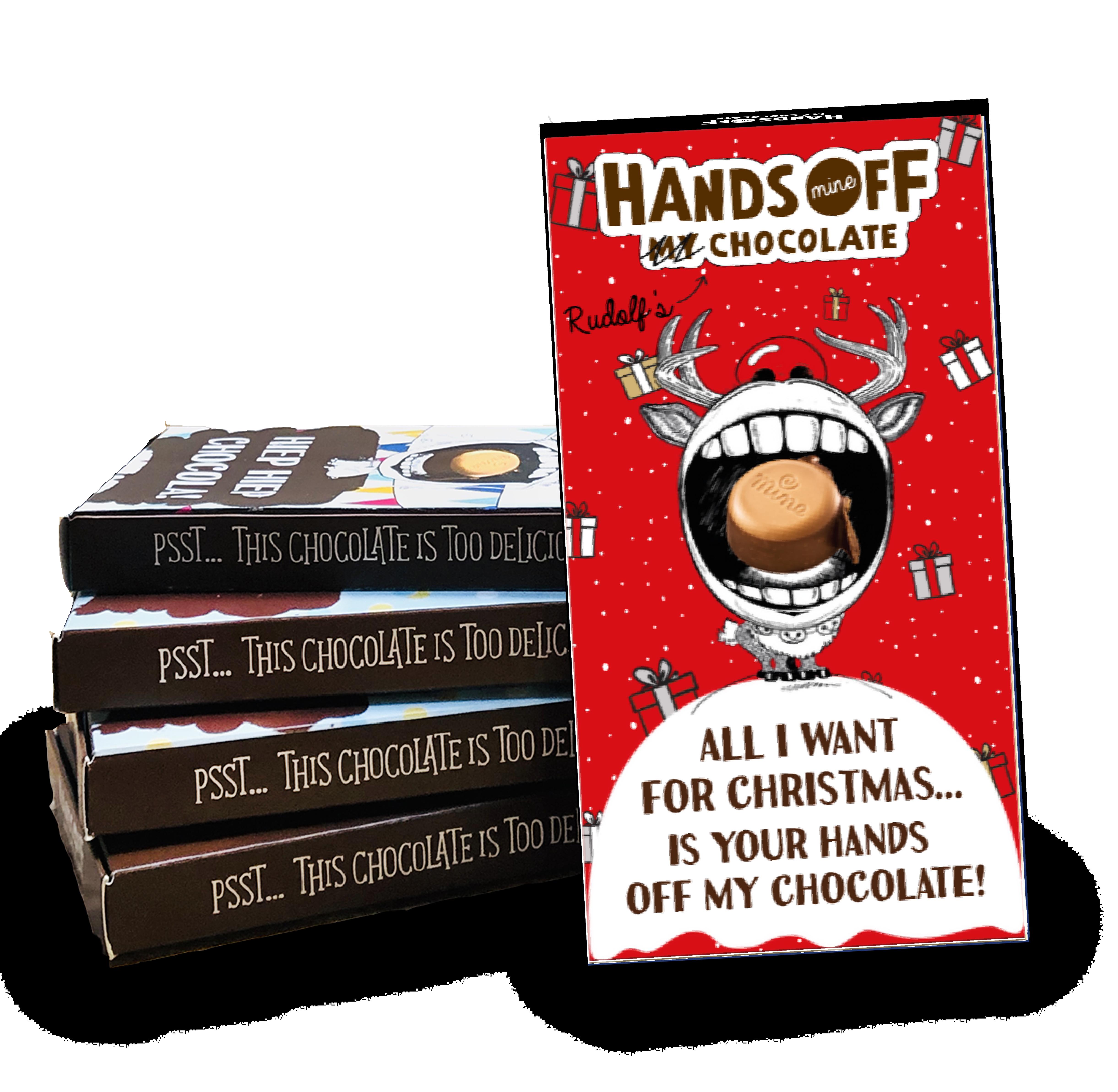 Maak jouw unieke kerstreep met Hands Off My Chocolate